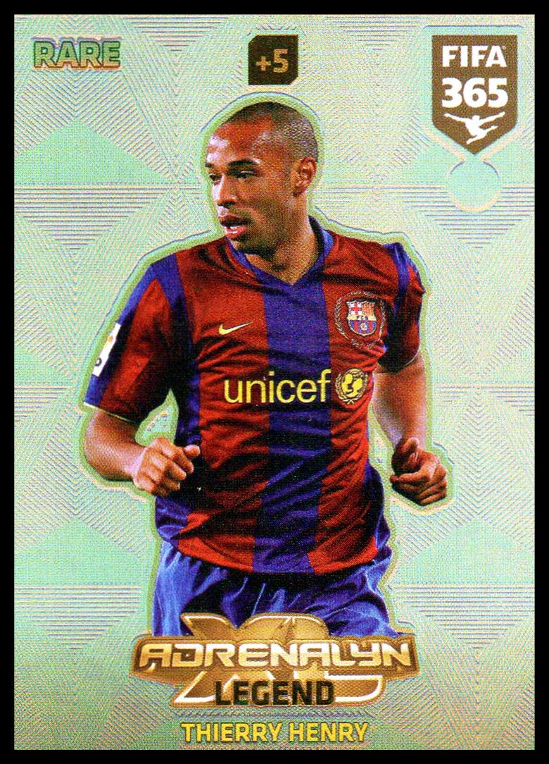 Rare Fifa 365 Cards 2018-3 Thierry Henry