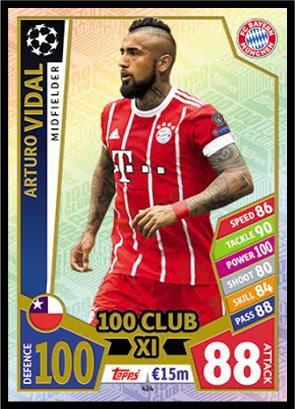 Match Attax Champions League 2018//19 Man of The Match Mega Signings 100 Club
