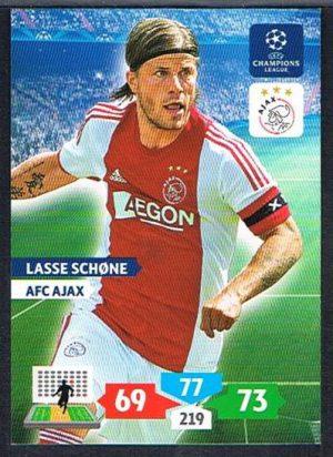 Adrenalyn XL Champions League 13//14 niklas moisander-AFC Ajax