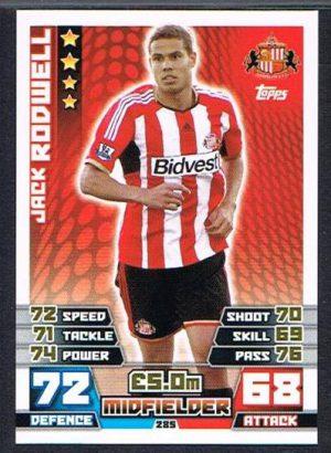 Match Attax 14//15 Sunderland #280 Lee Cattermole