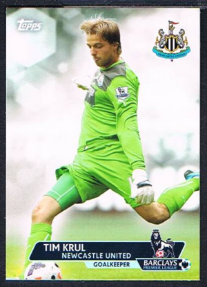 Newcastle Base # 59 Yohan Cabaye Topps Premier Gold 2013