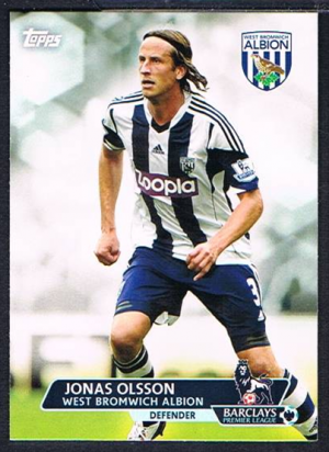 Base # 91 Ben Foster West Bromwich Albion Topps Premier Gold 2013