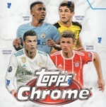 CHAMPIONS LEAGUE CHROME 2017-18