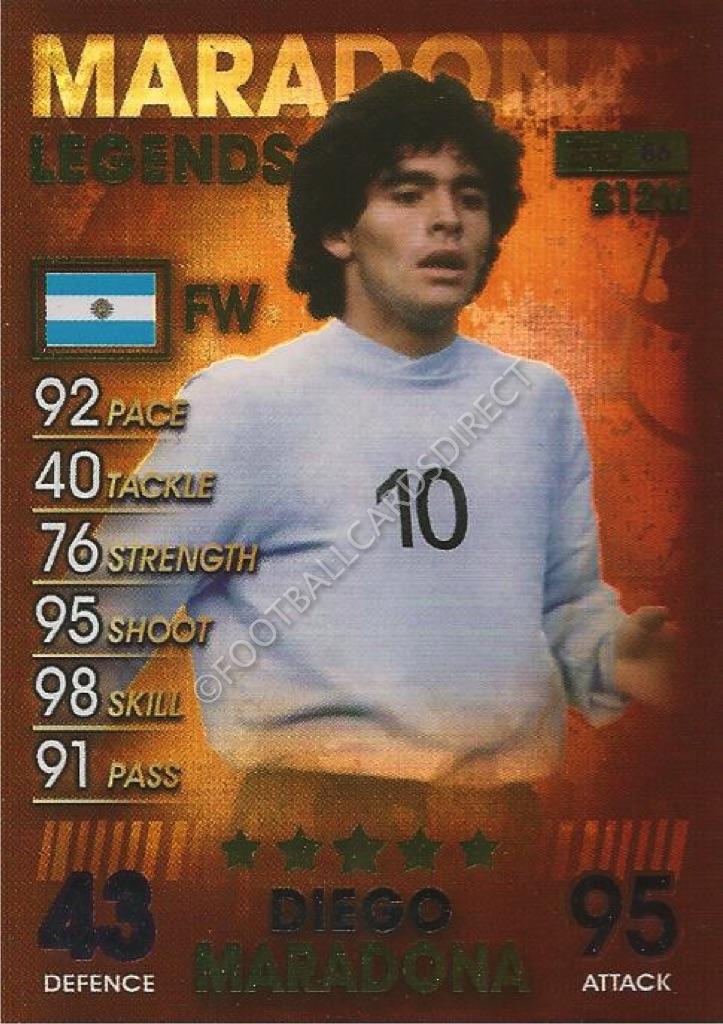 Match Attax 101-Leyendas//100 Club /& Edición Limitada