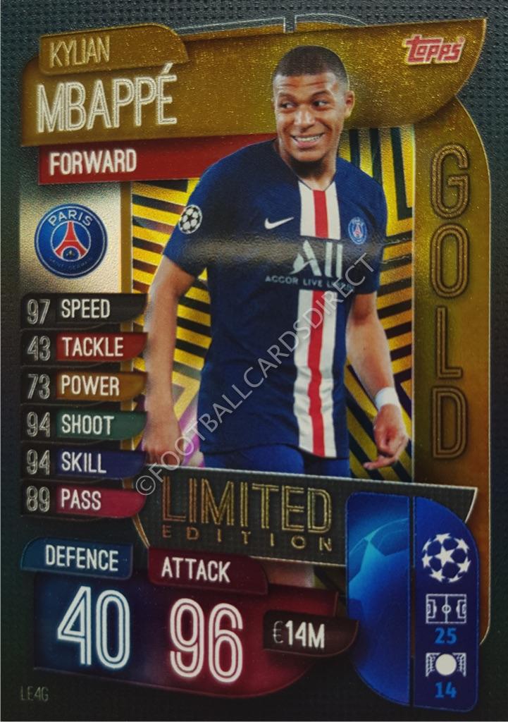 Paris ST-Germain PANINI ADRENALYN XL FIFA 365 2019 UPDATE Kylian MBAPPE Limitierte Auflage