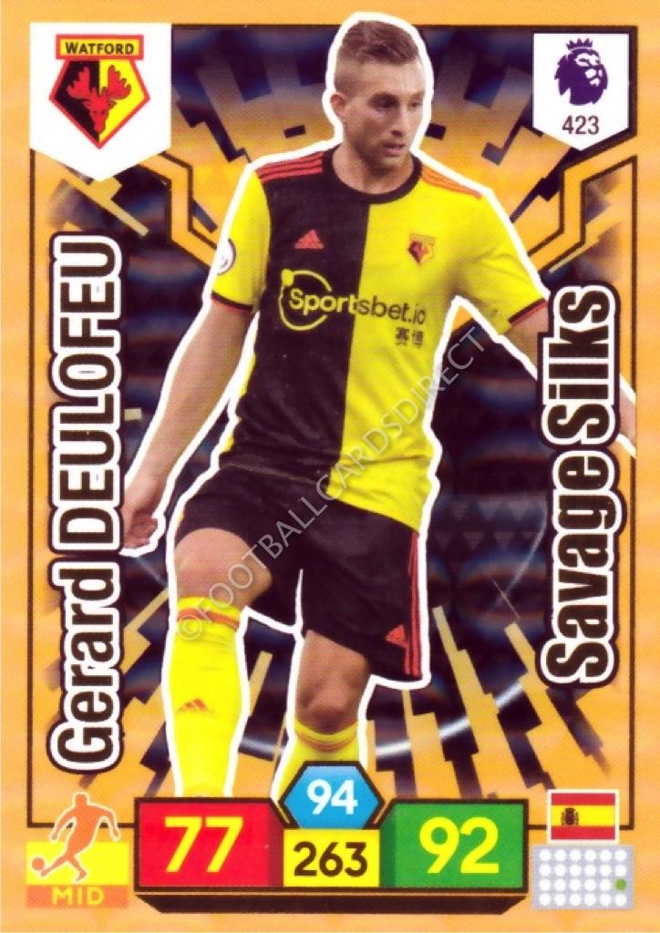 PANINI ADRENALYN XL Premier League 2019//20 édition limitée Golden Baller cartes