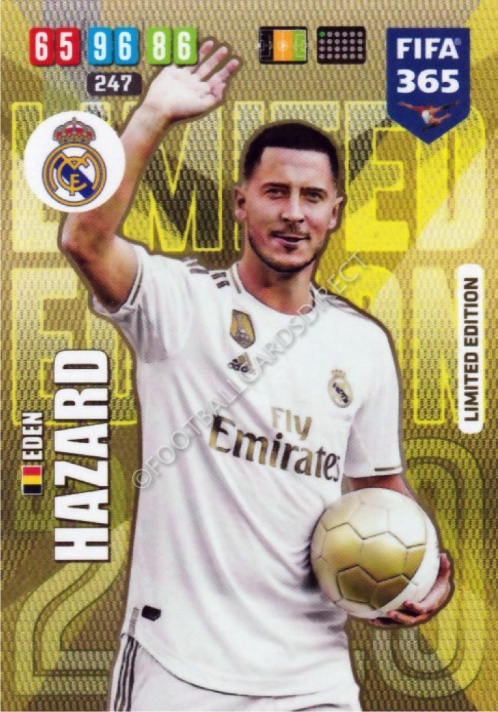 Adrenalyn XL FIFA 365 2020 REAL MADRID Complete 18 cards