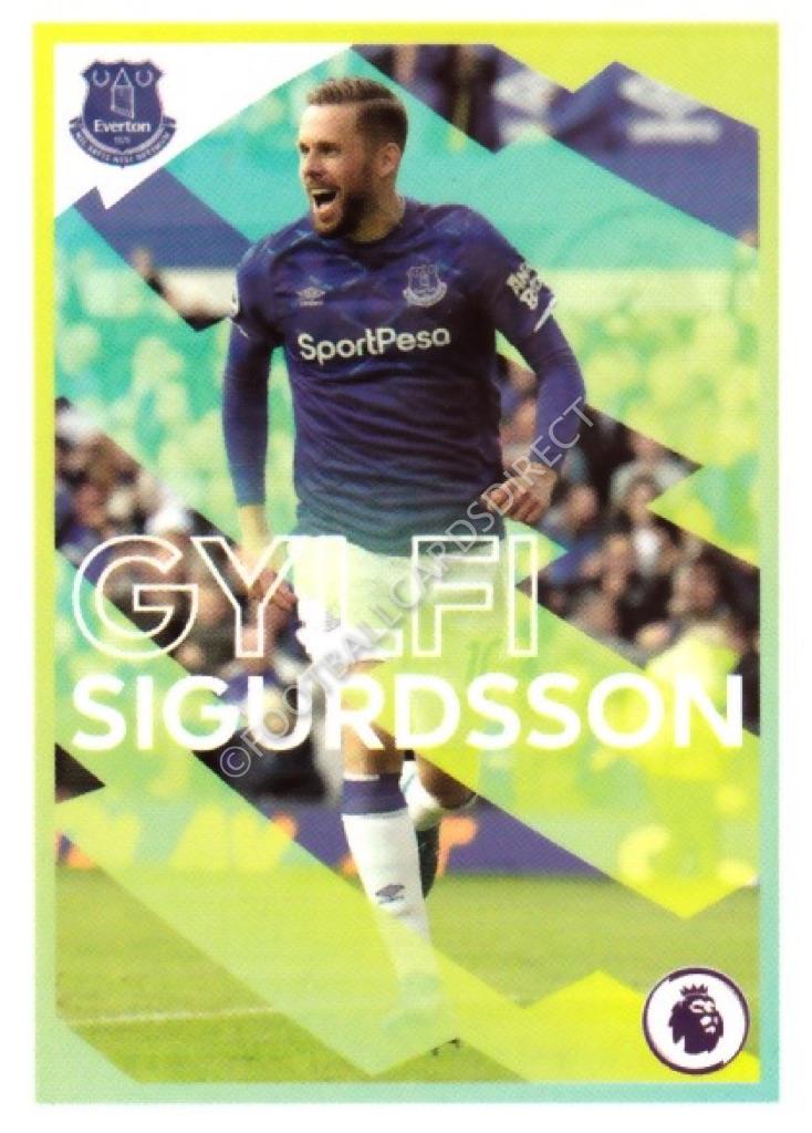 EVERTON PANINI FOOTBALL 2020-Gylfi Sigurdsson No 342