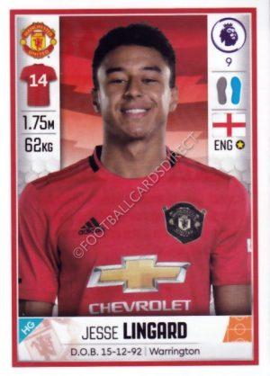 Panini Premier League 2019//20 ADRENALYN XL #381 Jesse Lingard héroe Man Utd
