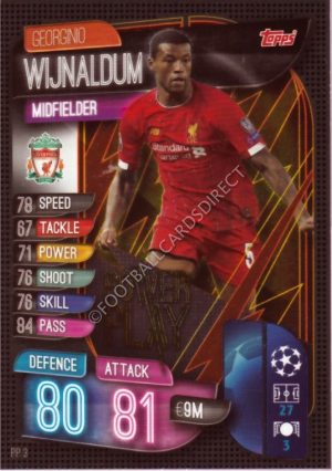 Match Attax attaque 2017//18 Roberto Firmino Gold Limited Edition Liverpool Carte