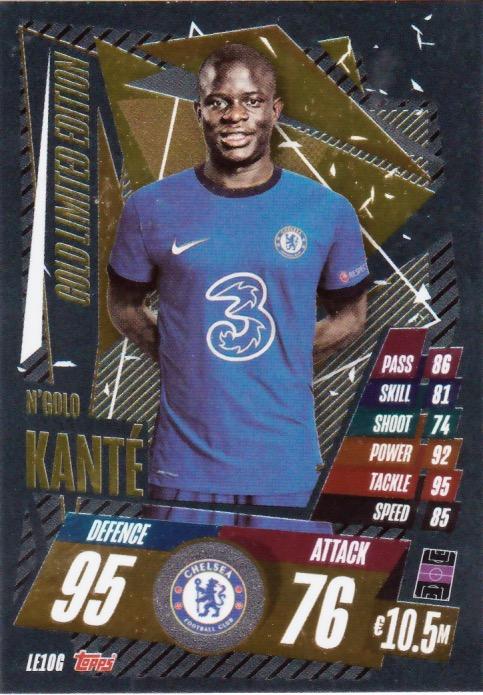 FIFA 365 Adrenalyn XL 2020 Ngolo Kante Limitierte Karte